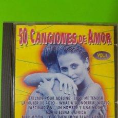 CDs de Música: 50 CANCIONES DE AMOR VOLUMEN 1 POR LA FAMOSA ORQUESTA DE FAUSTO PAPETTI. Lote 128122067