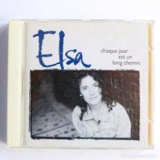 CDs de Música: ELSA - CHAQUE JOUR EST UN LONG CHEMIN. Lote 128144515