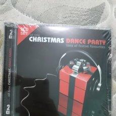 CDs de Música: CHRISTMAS DANCE PARTY DOS CDS PRECINTADO. Lote 128167272