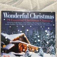 CDs de Música: WONDERFUL CHRISTMAS 3CDS PRECINTADO. Lote 128167392