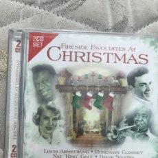 CDs de Música: FIRESIDE FAVOURITES AT CHRISTMAS 2CDS PRECINTADO. Lote 128167462