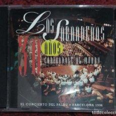 CDs de Música: LOS SABANDEÑOS (30 AÑOS CANTANDOLE AL MUNDO - EN DIRECTO DESDE EL PALAU DE BARCELONA) CD 1996. Lote 128179259