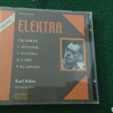 CDs de Música: ELEKTRA DE RICHARD STRAUSS 2 CDS. Lote 128179278