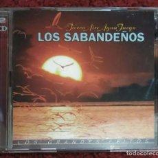 CDs de Música: LOS SABANDEÑOS (TIERRA AIRE AGUA FUEGO - LOS GRANDES EXITOS) 2 CD'S 1998 - MARIA DOLORES PRADERA. Lote 128179599