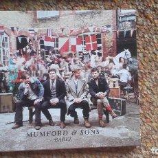 CDs de Música: MUMFORD & SONS , BABEL , CD DIGIPACK DELUXE EDICTION ESTADO IMPECABLE ENVIO ECONÓMICO. Lote 128242651