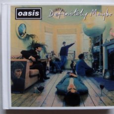 CDs de Música: OASIS. DEFINITELY MAYBE. DIGIBOOK DELUXE 3 CD'S BIG BROTHER RKIDCD70X. EU 2014. BRITISH POP. INDIE.. Lote 128243359