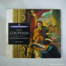 CDs de Música: LOUIS COUPERIN - SUITES POUR CLAVECIN - CD 2000 . Lote 128259787