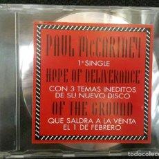 CDs de Música: PAUL MCCARTNEY - BEATLES - HOPE OF DELIVERANCE - CD SINGLE - PROMOCIONAL - REINO UNIDO/ESPAÑA. Lote 128261827