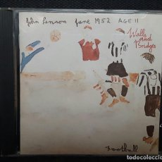 CDs de Música: JOHN LENNON - BEATLES - WALLS AND BRIDGES - CD - REINO UNIDO - RARO - EXCELENTE. Lote 128262395