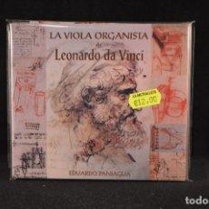 CDs de Música - EDUARDO PANIAGUA - LA VIOLA ORGANISTA DE LEONARDO DA VINCI - CD - 128271727
