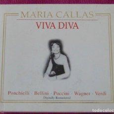 CDs de Música: MARIA CALLAS / PONCHIELLI- BELLINI -PUCCINI -WAGNER -VERDI - VIVA DIVA - CAJA 5 CDS. Lote 128276835