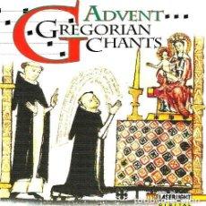CDs de Música: R20 - ADVENT GREGORIAN CHANTS. CANTO GREGORIANO. CD.. Lote 128282399