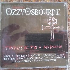 CDs de Música: HOMENAJE OZZY OSBOURNE , TRIBUTE TO A MADMAN , CD+DVD , ESTADO IMPECABLE ENVIO ECPNOMICO. Lote 128317767