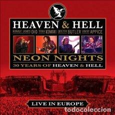 CDs de Música: BLACK SABBATH - NEON NIGHTS - 30 YEARS OF HEAVEN & HELL - LIVE IN EUROPE - CD . Lote 128323131