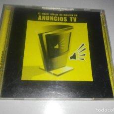 CDs de Música: CD EL MEJOR ALBUM DE MUSICA DE ANUNCIOS TV. Lote 128330043