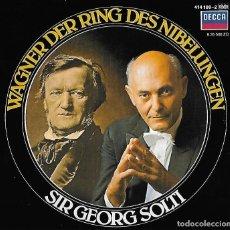 CDs de Música: WAGNER. DER RING DES NIBELUNGEN. SIR GEORG SOLTI. CD. Lote 128331883