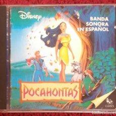 CDs de Música: B.S.O. POCAHONTAS (WALT DISNEY) CD 1995 BANDA SONORA EN ESPAÑOL * VER FOTOS. Lote 128338895
