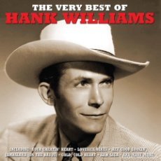 CDs de Música: THE VERY BEST OF HANK WILLIAMS * 2CD * LTD FUNDA PROTECTORA DE CARTÓN * PRECINTADO DE FÁBRICA. Lote 128347663