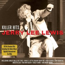 CDs de Música: JERRY LEE LEWIS * 2CD * KILLER HITS * LTD FUNDA PROTECTORA DE CARTÓN * PRECINTADO DE FÁBRICA. Lote 128348443
