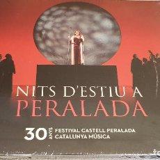 CDs de Música: NITS D'ESTIU A PERALADA / 30 ANYS FESTIVAL CASTELL PERALADA / DIGIPACK CD / 2017 / PRECINTADO.. Lote 182150055