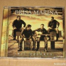 CDs de Música: (SIN ABRIR) BRISA MARINA - MIL RAZONES. Lote 128360023