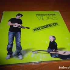 CDs de Música: PEDRO GUERRA VIDAS CD ALBUM DIGIPACK DEL AÑO 2007 ESPAÑA CONTIENE 14 TEMAS. Lote 128401887