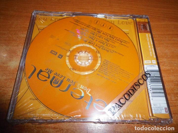 CDs de Música: ETERNAL Don´t you love me CD SINGLE PRECINTADO DEL AÑO 1997 HOLANDA CONTIENE 4 TEMAS - Foto 2 - 128406591