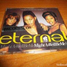 CDs de Música: ETERNAL MIGHT AS WELL BE ME CD SINGLE PROMO DEL AÑO 1997 PORTADA DE PLASTICO CONTIENE 1 TEMA. Lote 128407119