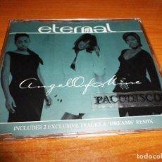CDs de Música: ETERNAL ANGEL OF MINE REMIXES CD SINGLE DEL AÑO 1997 HOLANDA PORTADA DE PLASTICO CONTIENE 4 TEMAS. Lote 128407283