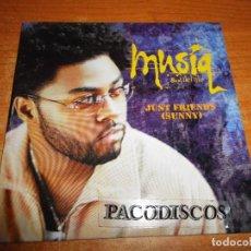 CDs de Música: MUSIQ SOULCHILD JUST FRIEND ( SUNNY) CD SINGLE PROMO CARTON AÑO 2000 EU CONTIENE 3 TEMAS R&B SOUL. Lote 128407787