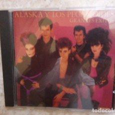 CDs de Música: ALASKA Y LOS PEGAMOIDES. GRANDES EXITOS. 14 TEMAS. . Lote 128417051