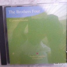 CDs de Música: THE BROTHERS FOUR. 12 GRANDES BALADAS. . Lote 128418007