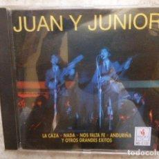 CDs de Música: JUAN Y JUNIOR. LA CAZA, NADA... 12 TEMAS. . Lote 128418531