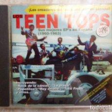 CDs de Música: LOS TEEN TOPS. SUS MEJORES EP´S EN ESPAÑA. 1960 - 1963. 24 TEMAS.. Lote 128418847