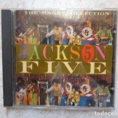 CDs de Música: THE JACKSON FIVE. THE MAGIC COLLECTION. 24 TEMAS. HOLANDA.. Lote 128419223