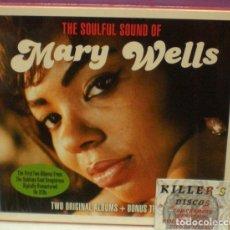 CDs de Música: MARY WELLS - THE SOULFUL SOUND OF - 2XCD PRECINTADOS. Lote 128419647