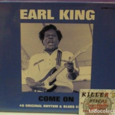 CDs de Música: EARL KING - COME ON - 2XCD NUEVO. Lote 128420247