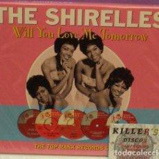 CDs de Música: THE SHIRELLES - WILL YOU LOVE ME TOMORROW - 2XCD NUEVO. Lote 128420967