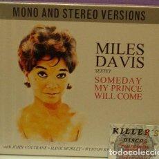 CDs de Música: MILES DAVIS SEXTET - SOMEDAY MY PRINCE WILL COME - 2XCD NUEVO. Lote 128425583