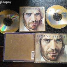 CDs de Música: CAMARON DE LA ISLA NUESTRO DOBLE CD ALBUM 1994 GRABACIONES INEDITAS EN DIRECTO GUITARRA TOMATITO. Lote 128430887