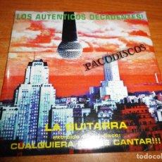 CDs de Música: LOS AUTENTICOS DECADENTES LA GUITARRA CD SINGLE PROMO PRECINTADO DEL AÑO 1997 1 TEMA ROCK LATINO. Lote 128432355