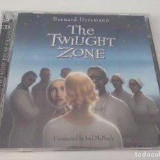 CDs de Música: CD THE TWILIGHT ZONE - BERNARD HERMANN 1999 VARESE SARABANDE. Lote 128442219
