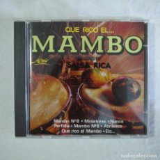 CDs de Música: ORQUESTA SALSA RICA - QUÉ RICO EL MAMBO - CD 1991 . Lote 128453123