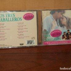 CDs de Música: LOS TRES CABALLEROS - GRANDES BOLEROS - CD 12 CANCIONES. Lote 128458091