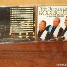 CDs de Música: TRIO HERMANOS RODRIGUEZ - PURO SON CUBANO - CD . Lote 128466023