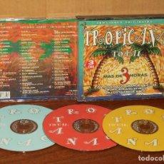 CDs de Música: TROPICANA TOTAL - TRIPLE CD VERSIONES ORIGINALES - ARTISTAS VARIOS . Lote 128467487