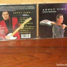 CDs de Música: STEVE TROVATO - ABOUT TIME - CD . Lote 128467863