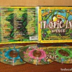 CDs de Música: TROPICANA DANCE - TRIP`LE CD VOLUMEN 4 - ARTISTAS VARIOS ORIGINALES . Lote 128468911
