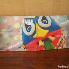 CDs de Música: TRUCO & ZAPEROKO - MUSICA UNIVERSAL - CD DIGIPAK CARPETA ALGO DETERIORADA . Lote 128469303
