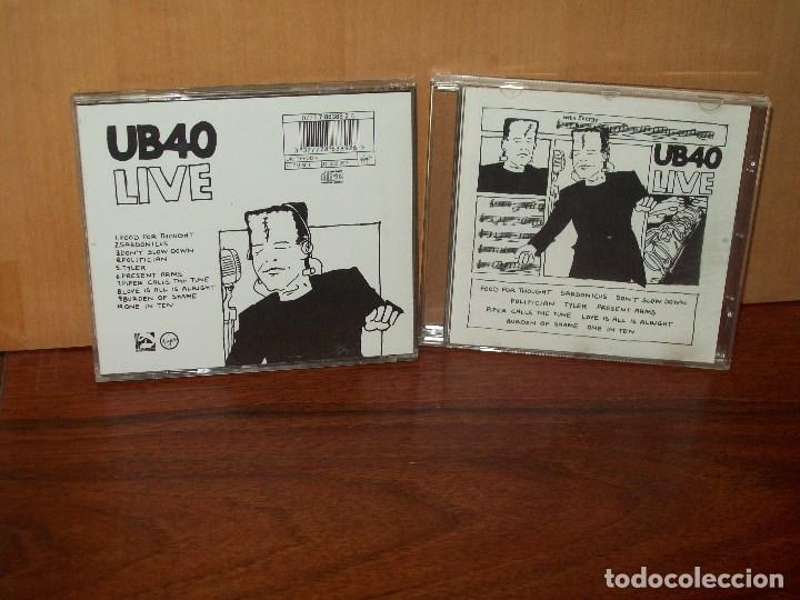 UB40 - LIVE - CD (Música - CD's Reggae)